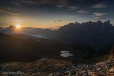 Il Lago di Iuribrutto salendo a Cima Bocce